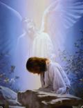 jesus pray angel