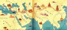Map Silk Road