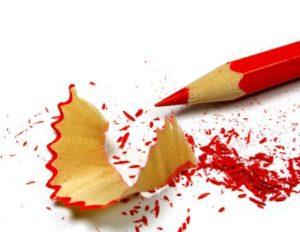 pencil dust