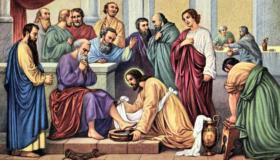 Jesus Washes Feet 2