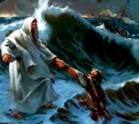 Jesus Walked on Water 1