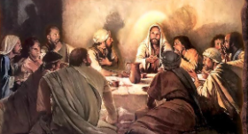 Jesus With Disciples 2