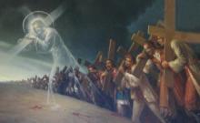 Jesus carries the Cross 6