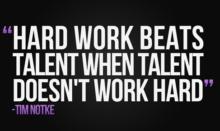 Talent Hardworking 3