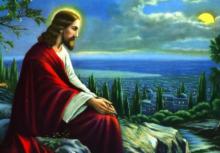 Jesus Prays 1