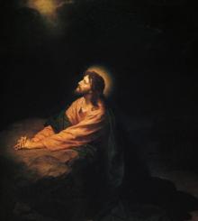 Jesus Prays 3