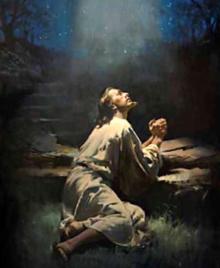 Jesus Prays 6
