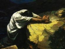 Jesus Prays 8
