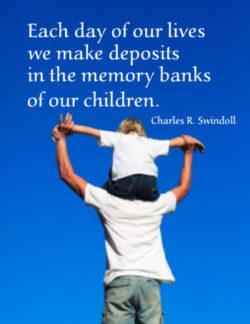 dad make memory